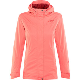 Maier Sports Metor 2 Layer Packaway Jacket Damen spiced coral